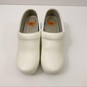 Dansko White Nursing Clogs Comfort Shoes